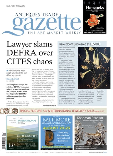 Antiques Trade Gazette Preview