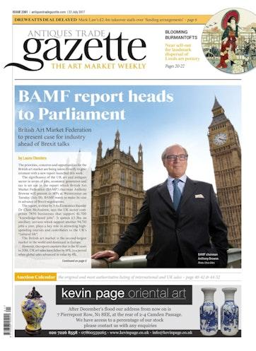 Antiques Trade Gazette Preview