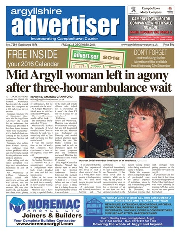 Argyllshire Advertiser Preview