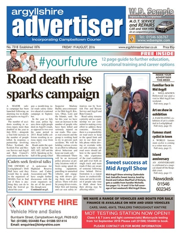 Argyllshire Advertiser Preview