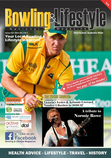 Australian National Bowling & Lifestyle Magazine Preview