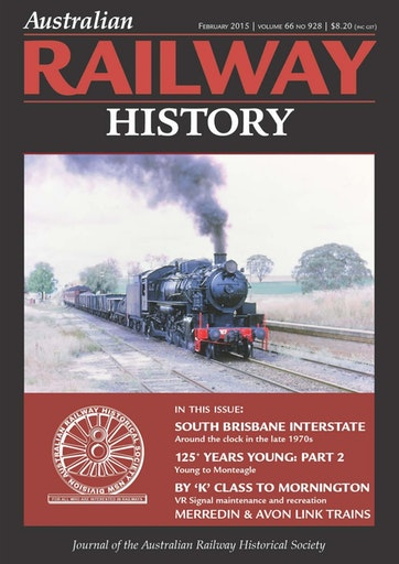 Australian Railway History Preview