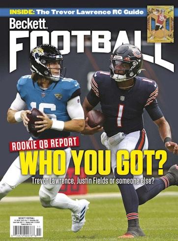 Beckett Football Magazine Preview