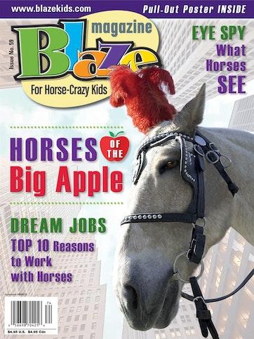 Blaze Magazine For Horse Crazy Kids Preview