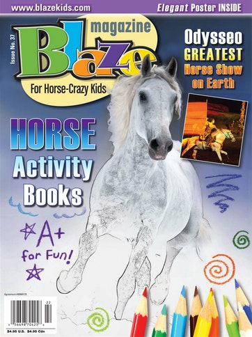 Blaze Magazine For Horse Crazy Kids Preview