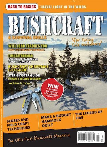 Bushcraft Survival Skills Magazine Issue 65 Subscriptions Pocketmags