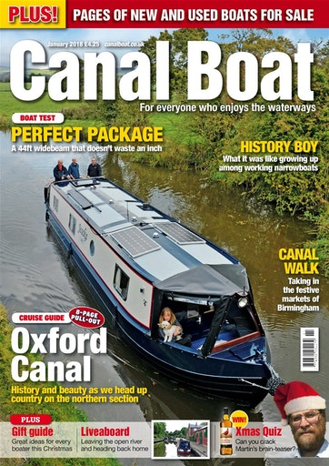 Canal Boat Preview