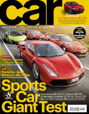 CAR magazine Italia Preview