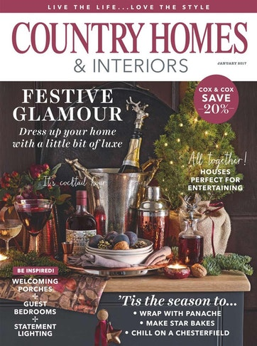Country Homes Interiors Magazine January 2017 Subscriptions Pocketmags