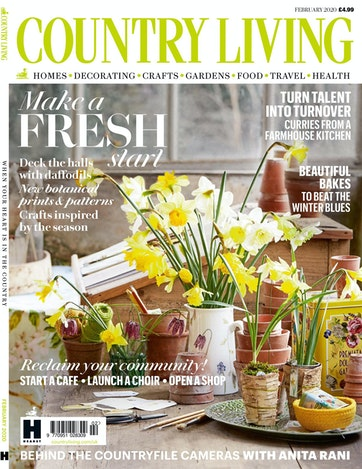 Country Living Magazine Feb 2020 Subscriptions Pocketmags