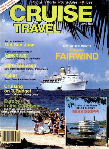 Cruise Travel Magazine May June 1983 Subscriptions Pocketmags
