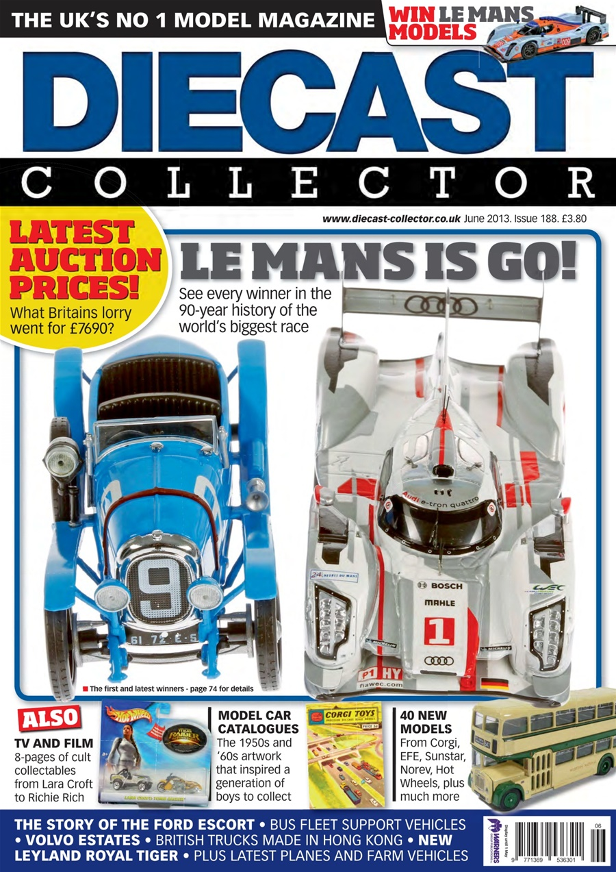 Truck Model World Magazine Corgi Nzg Tekno July//August 2018