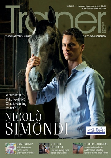 European Trainer Magazine - horse racing Preview