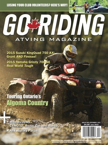 Go Riding ATVing Magazine Preview