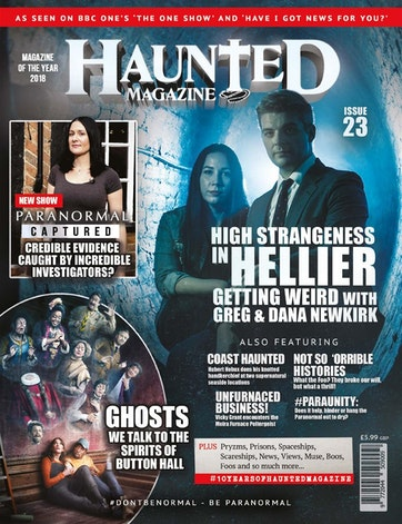 Haunted Magazine Preview