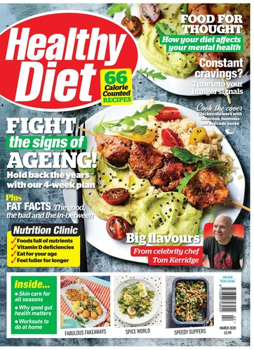 Healthy Diet Magazine Fight The Signs Of Ageing March 2020 Subscriptions Pocketmags