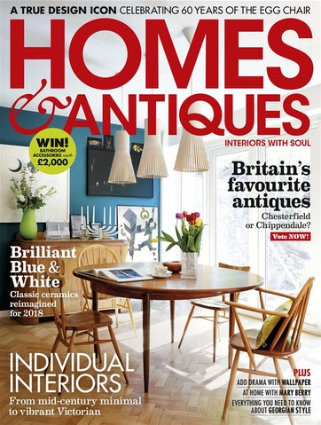 Homes & Antiques Magazine Preview