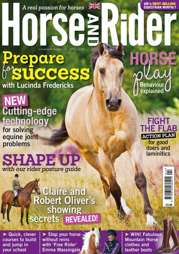 Horse&Rider Magazine - UK equestrian magazine for Horse and Rider Preview