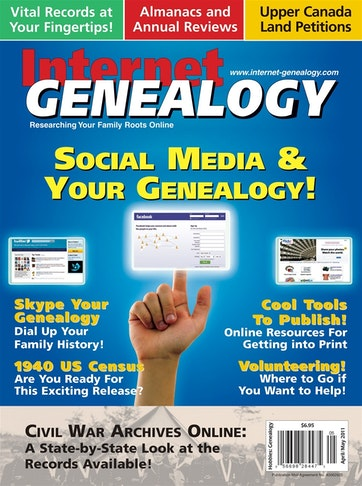 Internet Genealogy Preview