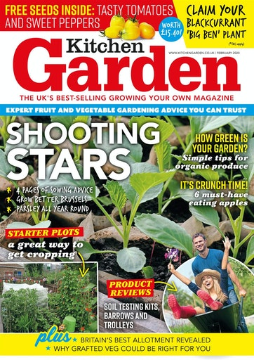 Kitchen Garden Magazine 269 February 2020 Subscriptions