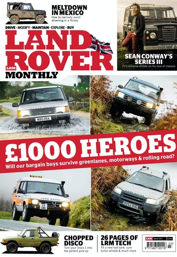 Land Rover Monthly Preview