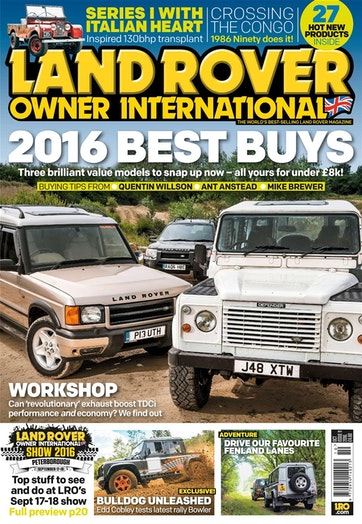 Land Rover Owner Preview