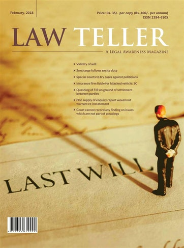 Lawteller – A Legal Awareness Magazine Preview