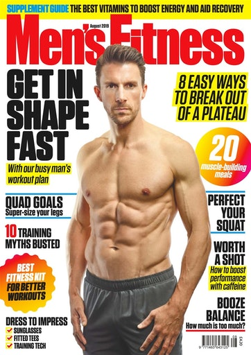 Men's Fitness Preview