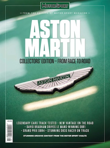 Motor Sport Magazine Aston Martin Collectors Edition From Race To Road Subscriptions Pocketmags