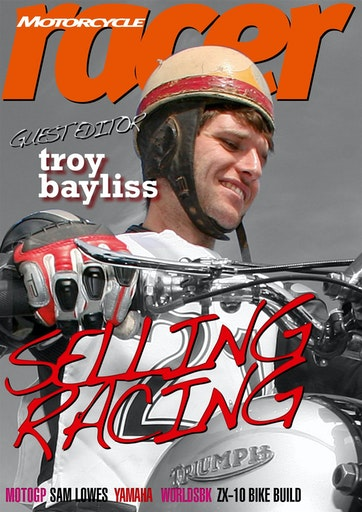 Motorcycle Racer Magazine Preview