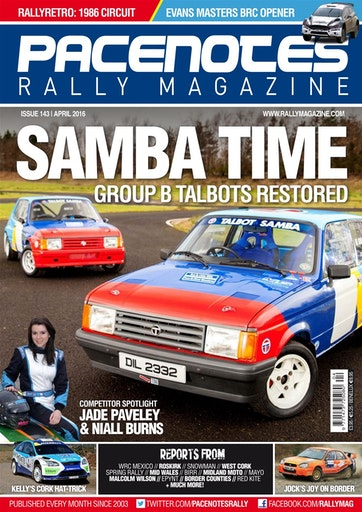 Pacenotes Rally magazine Preview