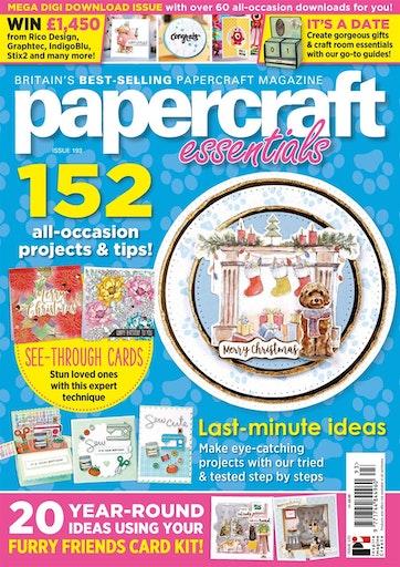 Papercraft Essentials Preview