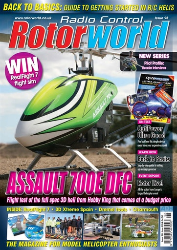 Radio Control Rotor World Preview