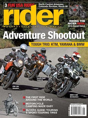 Rider Magazine Preview