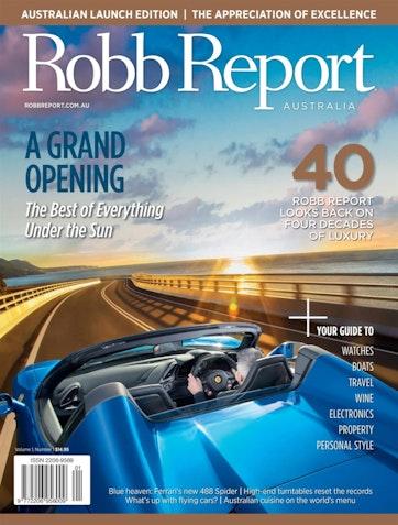 Robb Report Australia & New Zealand Preview