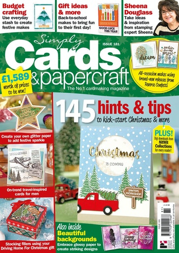 Simply Cards Papercraft Magazine Issue 181 Subscriptions Pocketmags