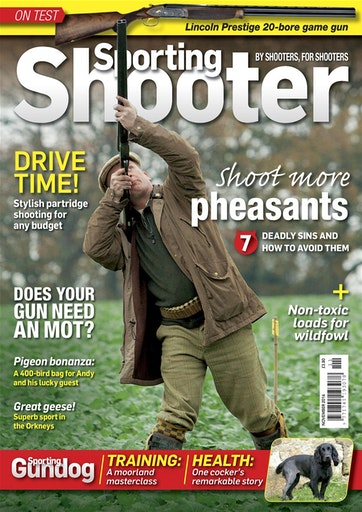 Sporting Shooter Preview