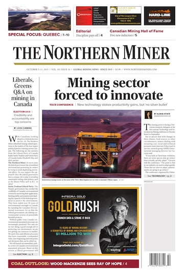The Northern Miner Preview