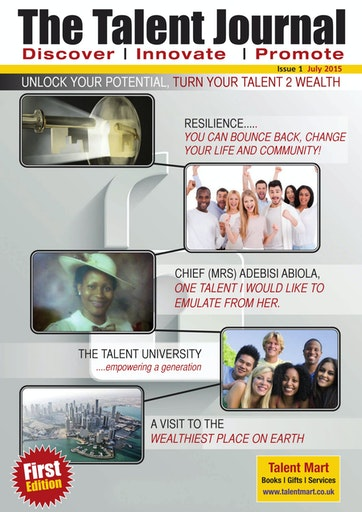 The Talent Publishing Preview