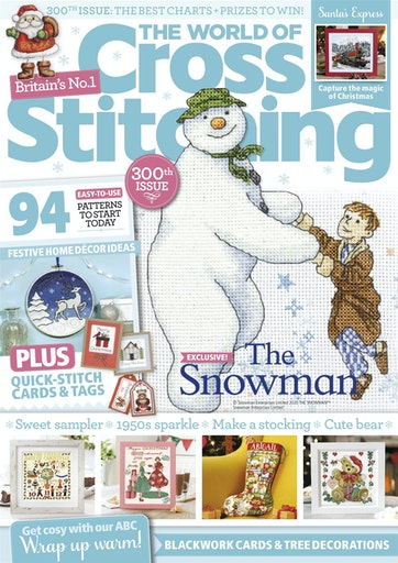 Christmas 2020 Issue 275 The World Of Cross Stitching Magazine The World of Cross Stitching Magazine   December 2020