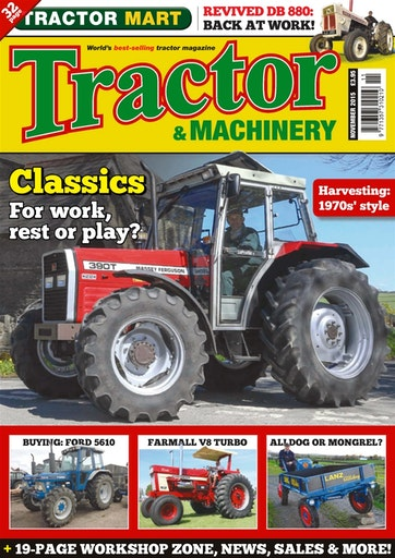 Tractor & Machinery Preview