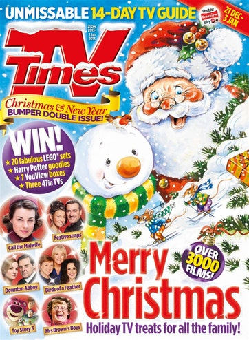 TV Times Magazine - TV Times Christmas Special Subscriptions | Pocketmags