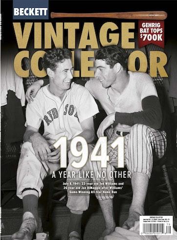 Beckett Vintage Collector Magazine Preview