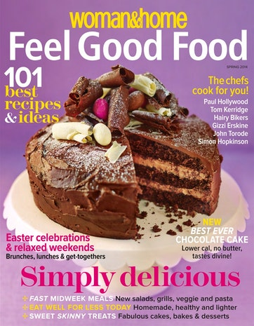 Woman & Home Feel Good Food Preview